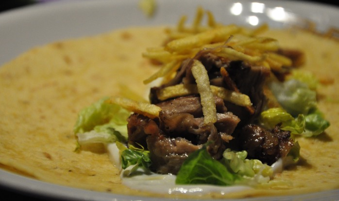 Lamb tortilla