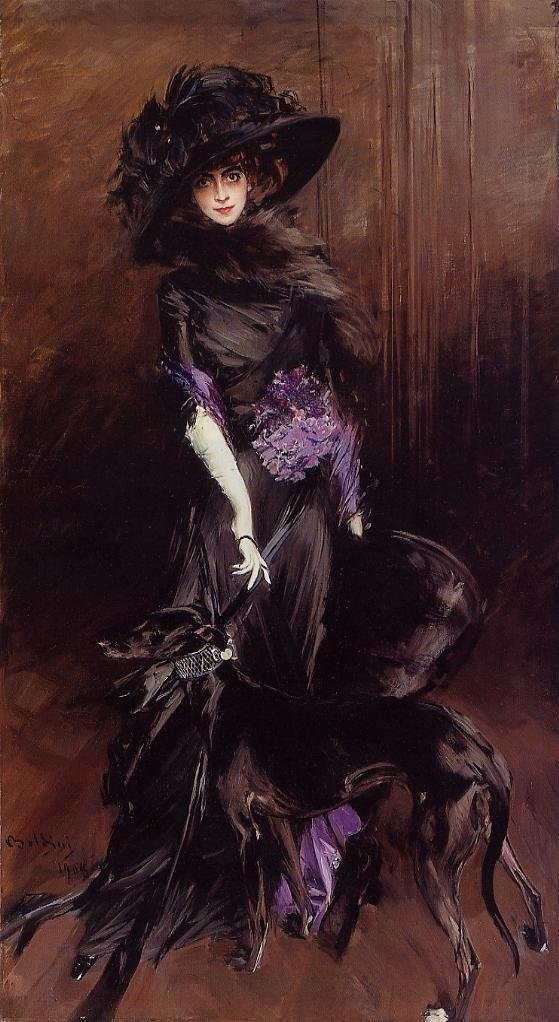 Luisa Casati by Boldini