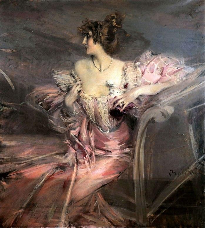 Marthe de Florian by Boldini