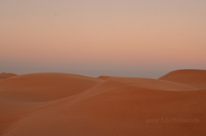 oman dune desert travel sunset