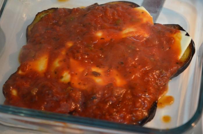 parmigiana aubergine