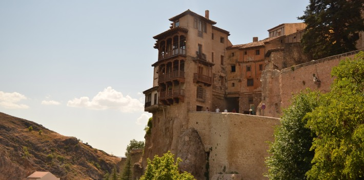 casas colgadas hanging houses cuenca travel