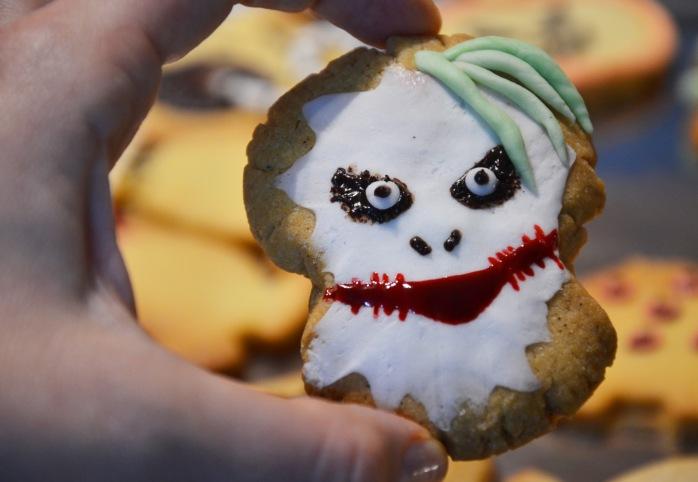 halloween zombie bunny biscuit cookie joker